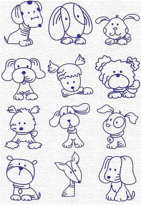 dog pattern drawing dog drawings doodles and dogs on pinterest