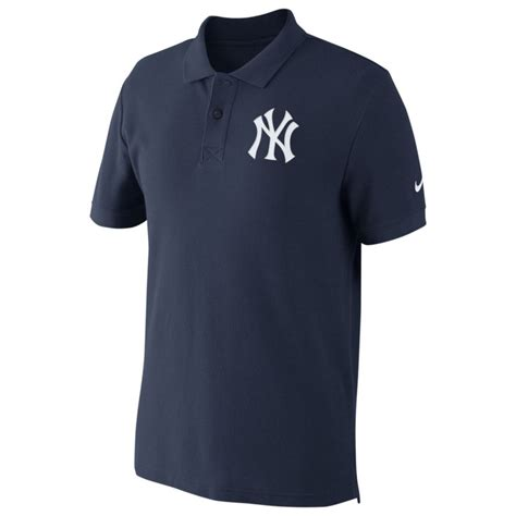 Polo Shirt Nike Yankees All Color nike new york yankees pique polo shirt in blue for lyst