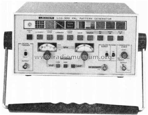 qucs pattern generator pal pattern generator lcg 399a equipment leader electronics