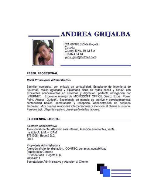 abhijit de perfil profesional hoja de vida andrea by andrea grijalba issuu