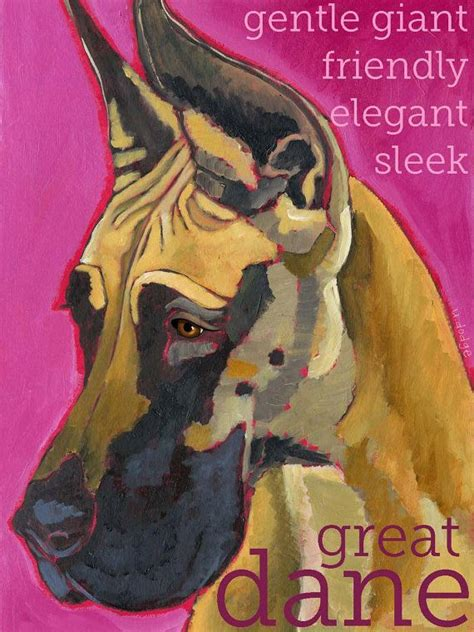 Treker Magnet Great No 4 great dane no 10 magnets coasters and prints magnets chang e 3 and great danes