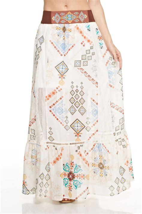 Flowly Maxy hyfve flowy maxi skirt from california by apricot folsom shoptiques