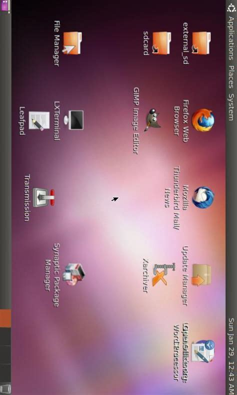 linux on android tablet linux on android softpedia linux