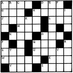 Crossword Puzzle Template by Search Results For Crossword Puzzle Blank Template