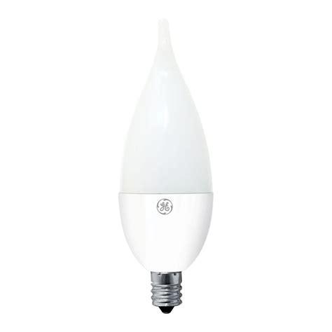 White Led Light Bulb Ge 40w Equivalent Soft White Ca11 Bent Tip Candelabra Base Dimmable Led Light Bulb 2 Pack