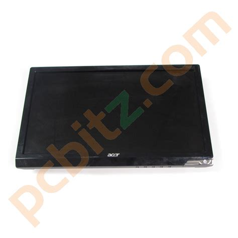 Acer G195hqvbxb Lcd Monitor 185 Inch acer p195hq b 18 5 quot widescreen lcd monitor no stand c ebay