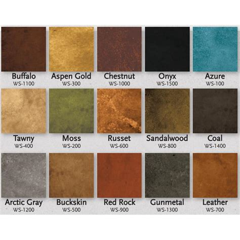 adventures in color washing colors cement and color charts expressions ltd concrete water based stain living earth