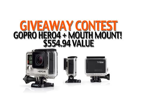 Giveaways And Contests - giveaway contest gopro hero4 mouth mount click like and share