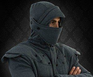 Armour Kaos Oblong Tr01 Black armored hoodie