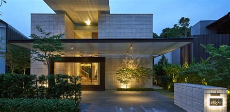 Zen Home Design Singapore Two Levels By Nott Design Redesigned Family Home In