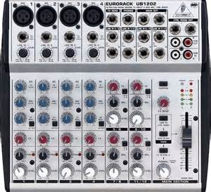 Mixer Behringer Ub1202 behringer eurorack ub1202 mixer