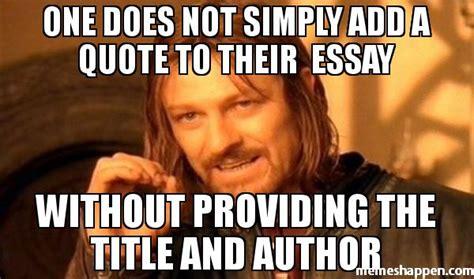 Essay Memes - research paper meme