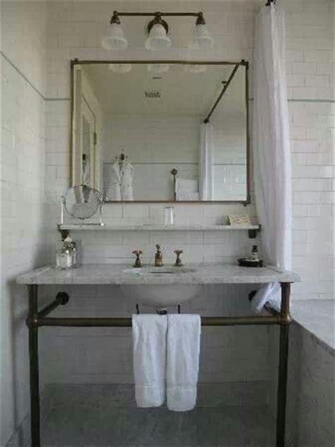 pipeline bathrooms pipe sink base bathroom pinterest