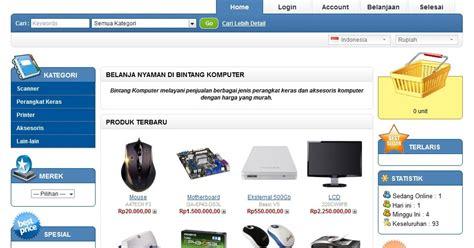 membuat toko online profesional membuat toko online menggunakan opencart blogger pemula
