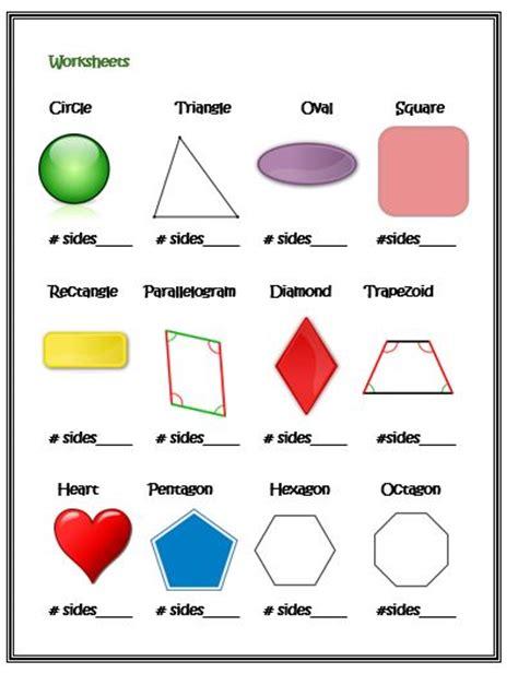 shapes worksheets for kindergarten kindergarten geometry with shapes curious