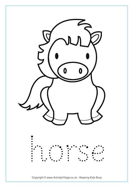 new year 2015 animal worksheets word tracing