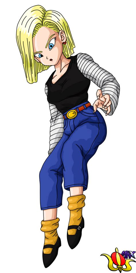 z android 18 android 18 flying render by madmaxepic on deviantart