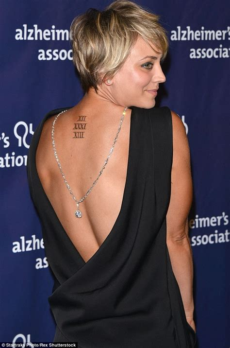kaley cuoco tattoos kaley cuoco buys herself a after split