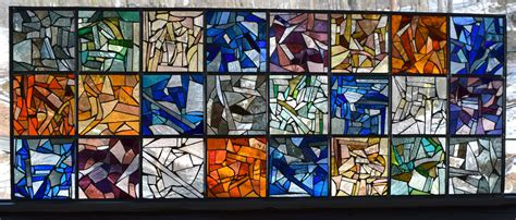 Home Hardware Designs Llc by Handmade Stained Glass Collage Colorful Abstract Modern