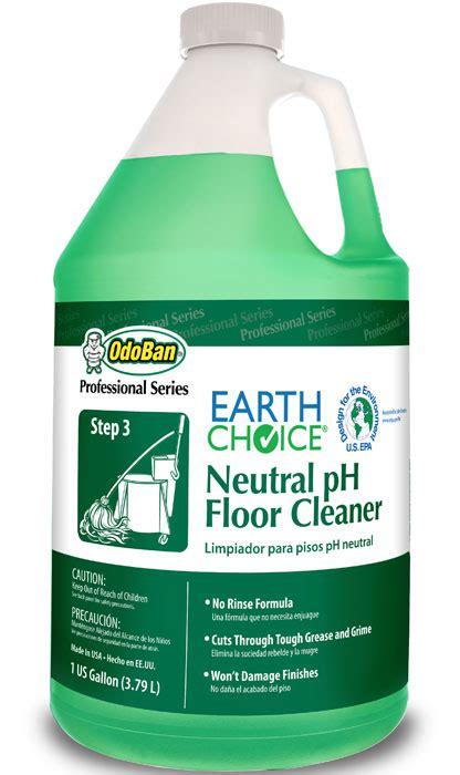 earth choice neutral ph floor cleaner