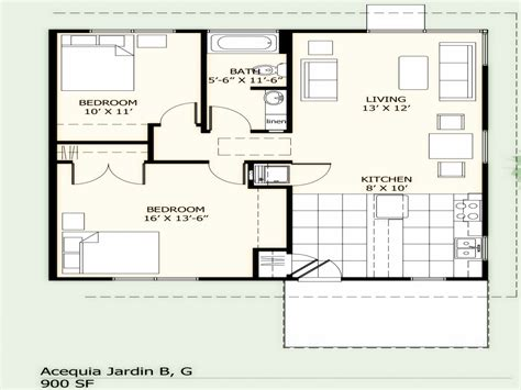 800 Square Feet Dimensions by 900 Square Feet Apartment 900 Square Foot House Plans 800