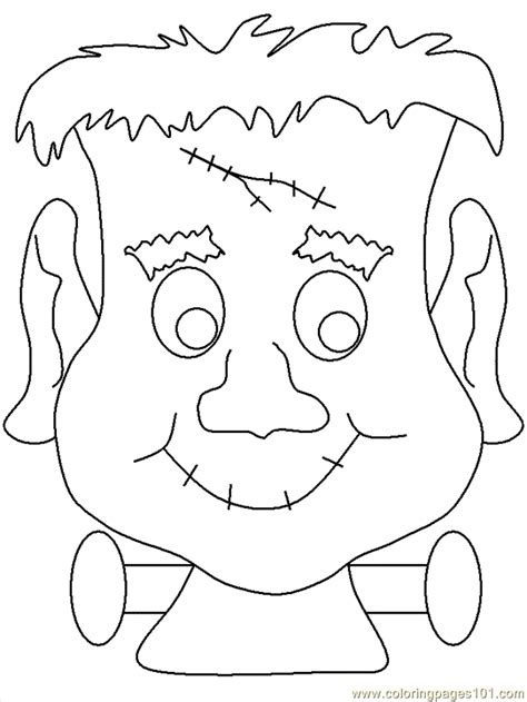 Of Frankenstein Coloring Pages frankenstein coloring page coloring home
