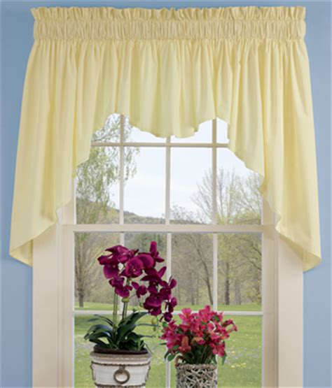 country curtains valances and swags maize