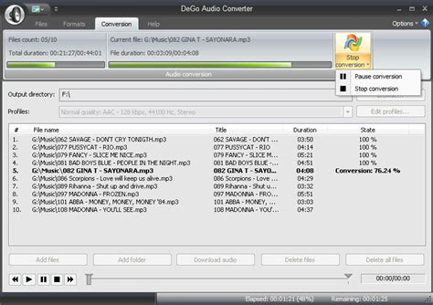audio format voc voc to mp3 converter free