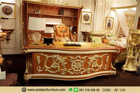 Kursi Kantor Olympic meja kerja kantor jati ukir klasik presiden direktur