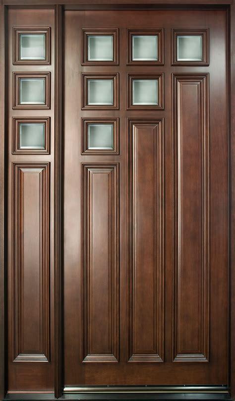 single door design front door custom single with 1 sidelite solid wood