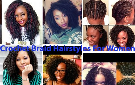 Crochet Hairstyles For Adults by 20 Crochet Braids Hairstyles How To Do 2018 Hairstyle