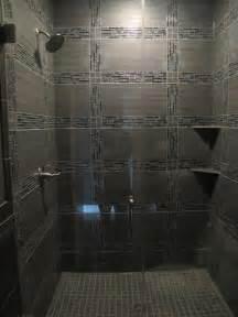 Modern Bathroom Glass Tile Glass Tile Shower Contemporary Tile Chicago By