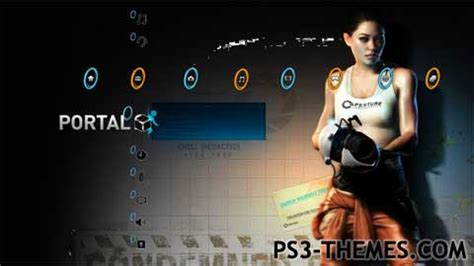 ps4 themes portal ps3 themes 187 portal 2 2