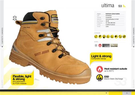 Safety Jogger Original Premium S3 Hro Esd jual sepatu safety jogger ultima s3 esd hro safety jogger store