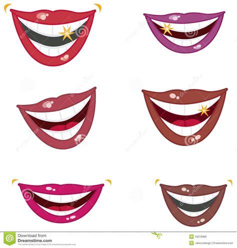 imagenes de bellas sonrisas sonrisas chispeantes ilustraci 243 n del vector imagen de