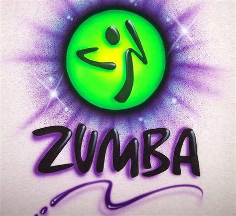 sided zumba themed personalized airbrushed shirt