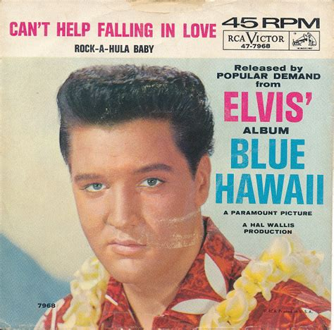 elvis can t help falling in love rock a hula baby at