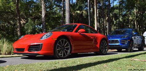 porsche red 2017 2017 porsche 911 c2s race yellow and guards red first