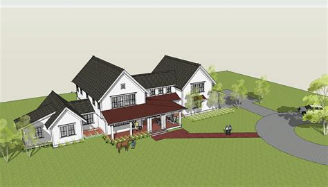 brenner architects new modern farmhouse design completed