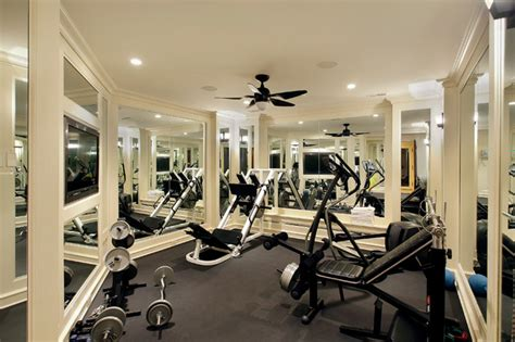 home workout room design pictures winnetka private residence 1 mediterranean home gym