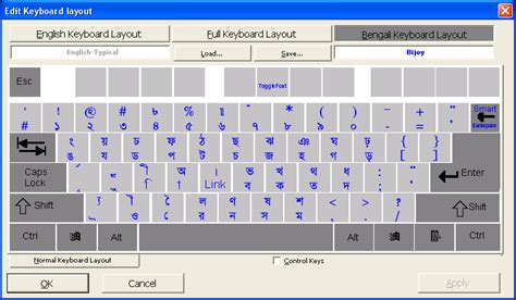 layout editing ekushey bengali keyboard layout editor