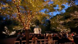 lighting outdoor wedding the estate at florentine gardens videography