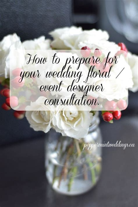 wedding decorator questions how to prepare for your floral and or event designer
