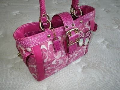 Limited Edition Tas Import Fashion Tote Bag Fku1961fs Paling Mur coach signature c chenille python pink boxy butterfly tote bag purse satchel wow ebay