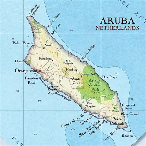 printable aruba road map aruba map heart print wedding gift by bombus off the peg