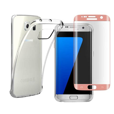 Casa Tempered Glass For Samsung S4 Clear 0 3mm clear tpu gel cover tempered glass for samsung galaxy s6 s7 edg s8 s8 plus ebay