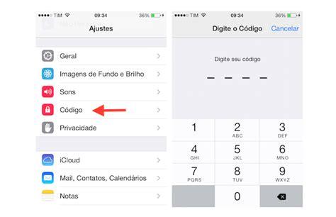 como mudar layout do iphone confira como desativar ou mudar a senha de bloqueio do