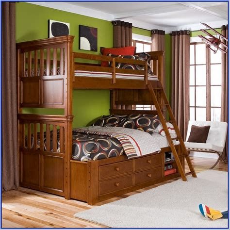 twin over queen bunk beds bunk beds with stairs twin over queen home design ideas