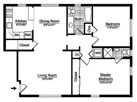 2 bedroom house floor plans with dimensions 2 bedroom 2 bedroom house plans free two bedroom floor plans