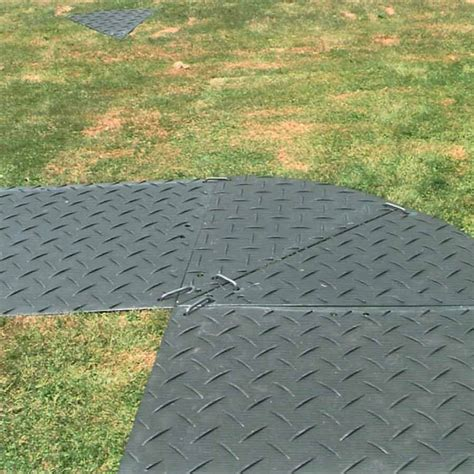 Ground Protection Mats For Sale by Wedge Black Ground Protection 4x8 Ft Ground